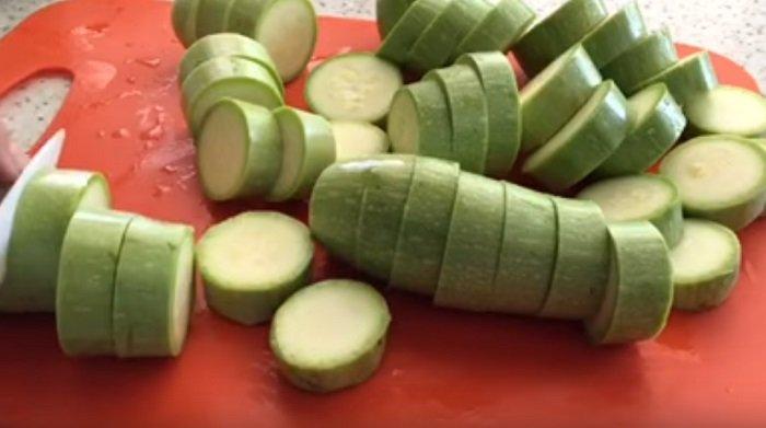 запеченные кабачки рецепт
