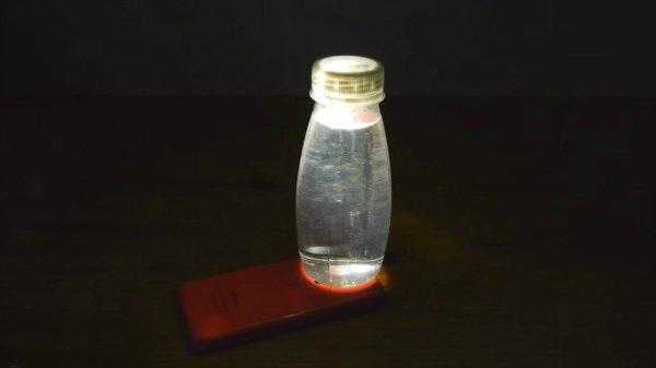 светильник из смартфона