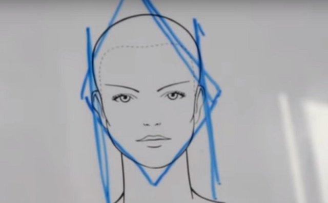 стрижка по форме лица фото