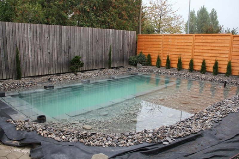 вырыть бассейн дома