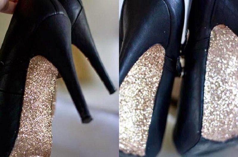 туфли в блестках