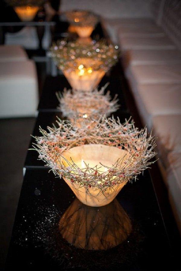 как украсить свечи свадебные