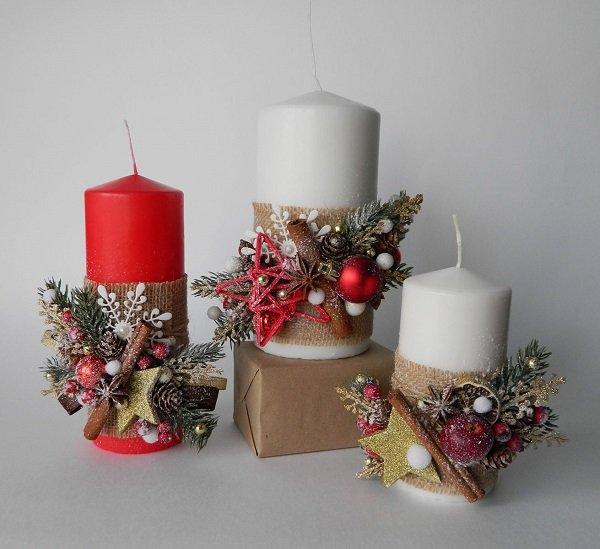 как украсить свечи для семейного очага itemprop=