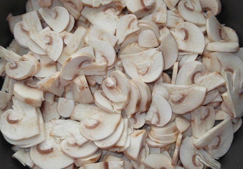 вкусные жареные грибы