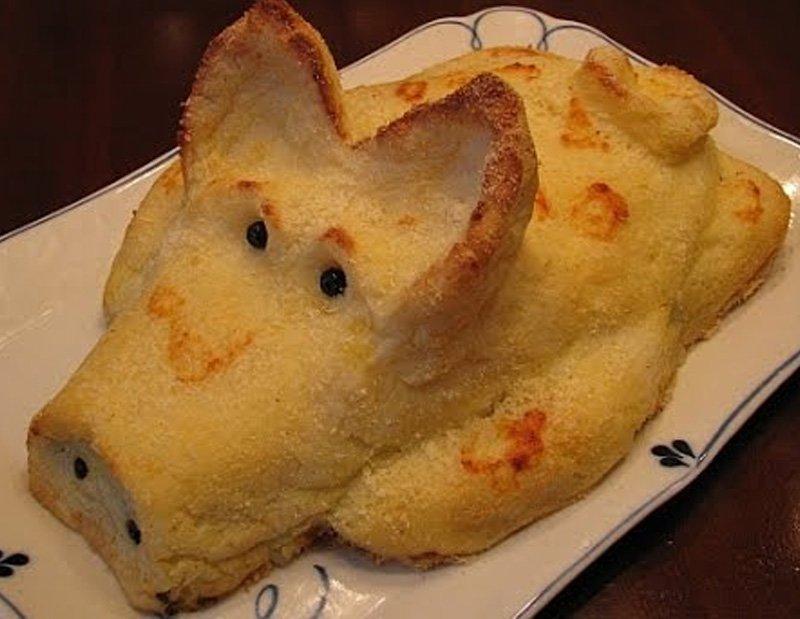 картофельное пюре в духовке