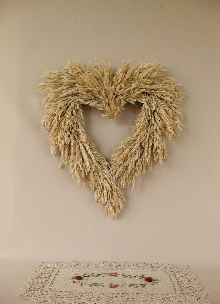 поделки из колосков пшеницы