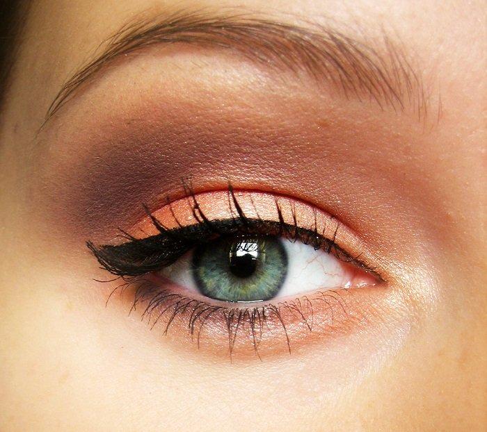 макияж для увеличения глаз поэтапно