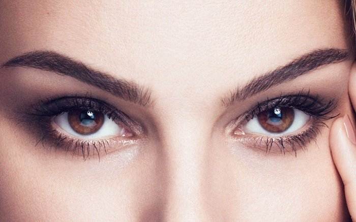 естественный макияж для увеличения глаз