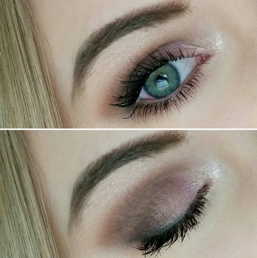 макияж глаз большие глаза