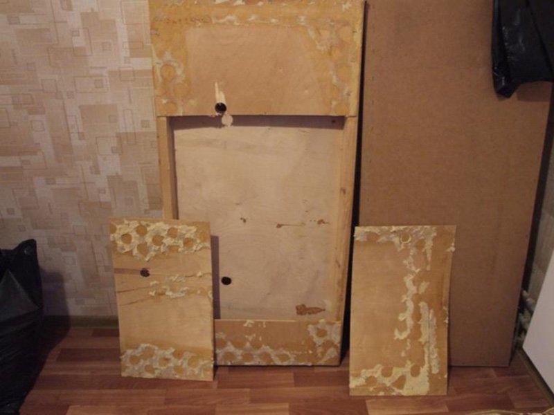 переделка и декор старой мебели