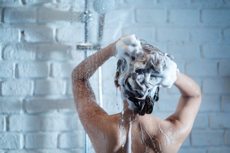 питательная маска для блеска волос