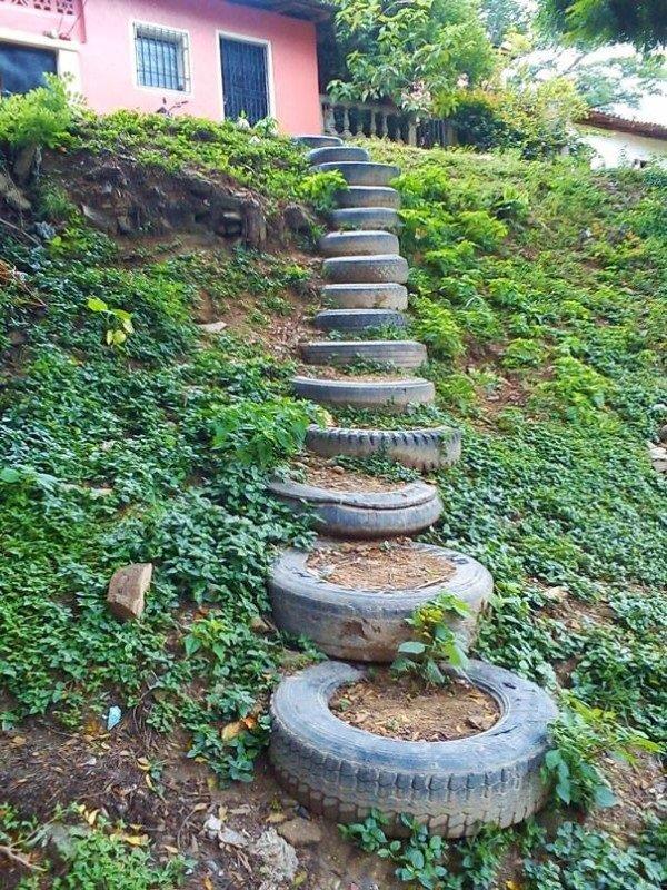 гуми стълбище