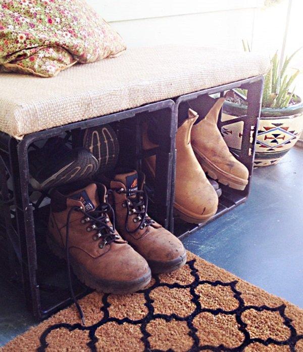 пластиковый ящик для обуви
