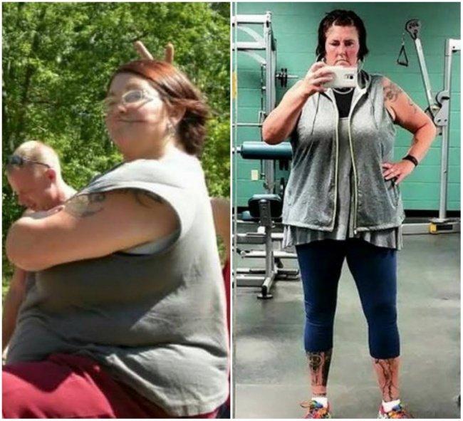 Примеры реального похудения с фото