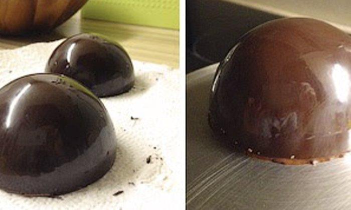 шоколадные украшения как сделать