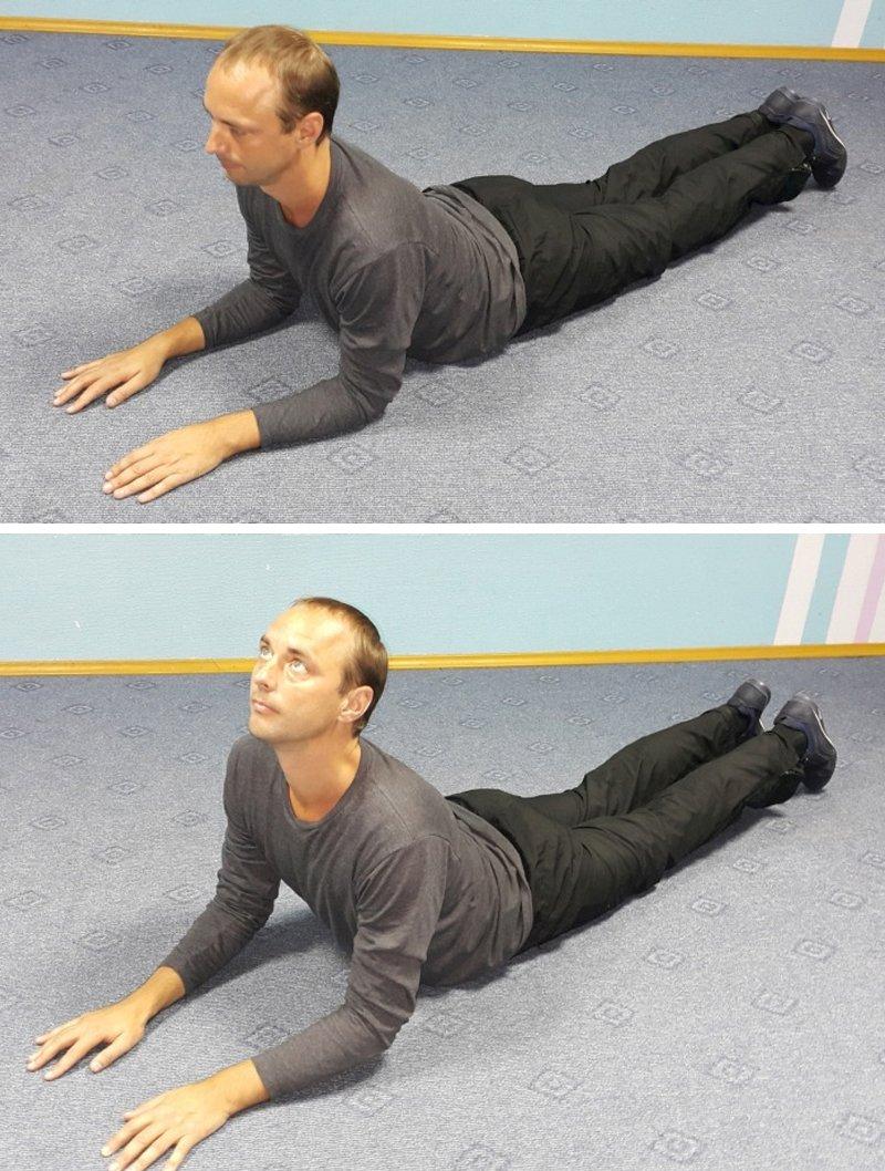 упражнения для спины и шеи