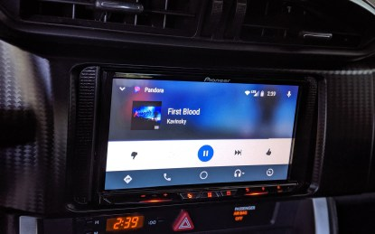 Installed with Pioneer