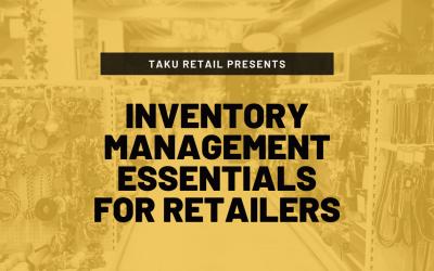 Inventory Management Essentials For Retailers