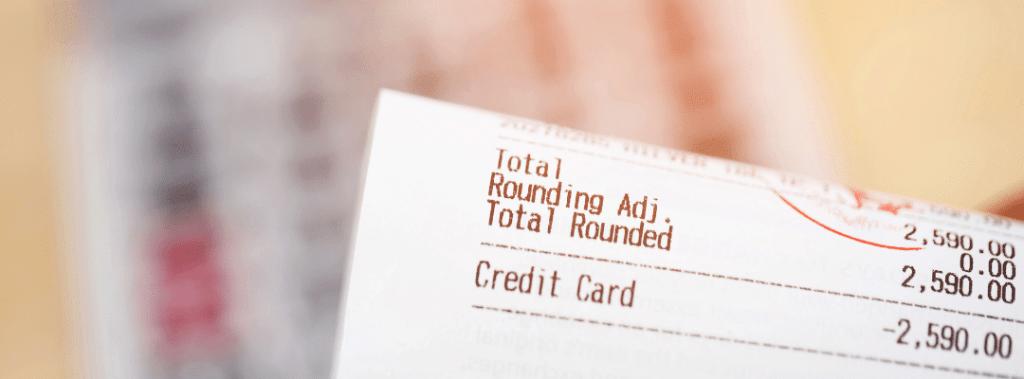 receipt returns shopping