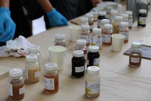 自然塗料勉強会を開催しました。