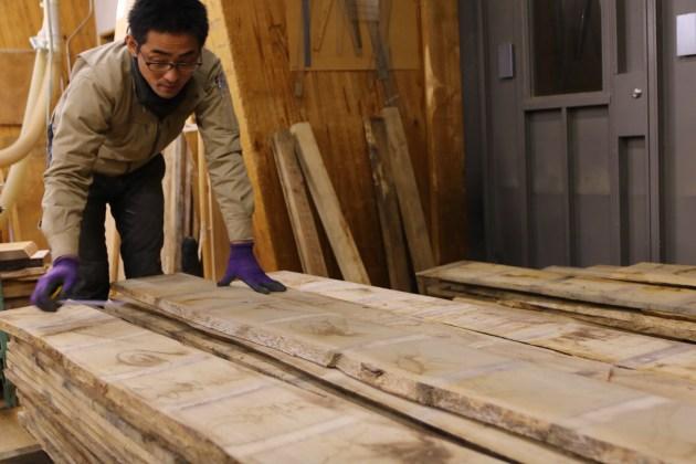 【初級課題】材料を木取りする。