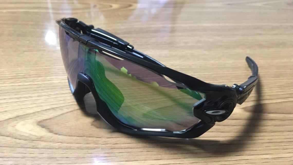 ダイレクトマウント式度入りロード用サングラスを作る  Oakley jawbreaker