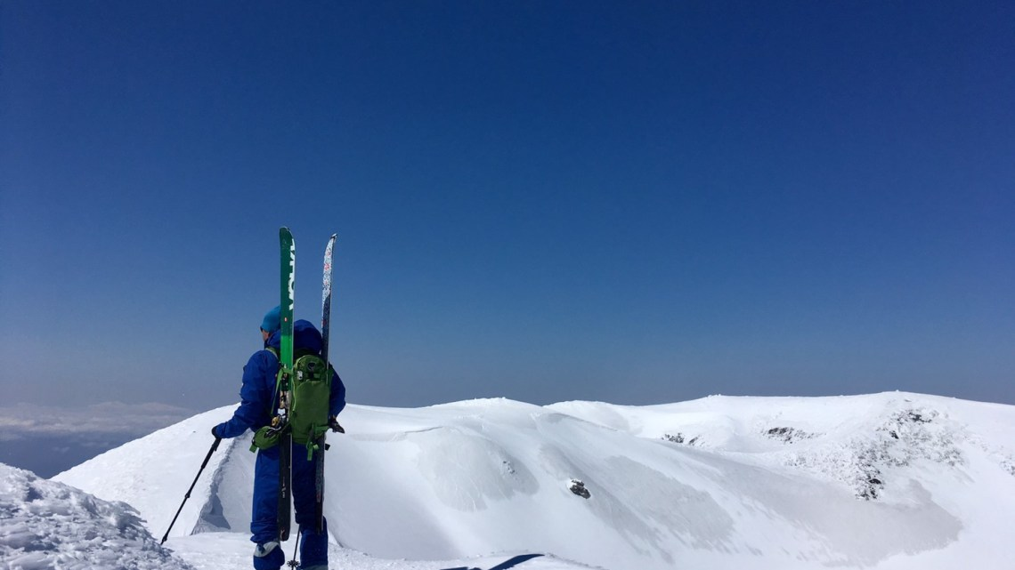 2019年4月19日 羊蹄山登山&バックカントリースキー