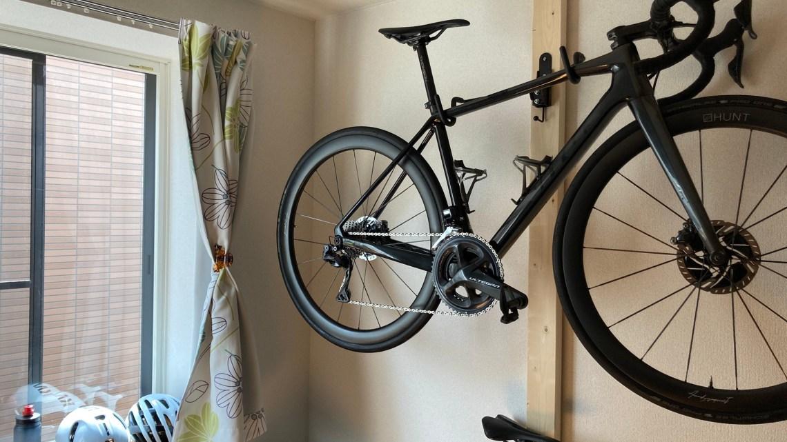 格安でロードバイク用ラックを自作DIY