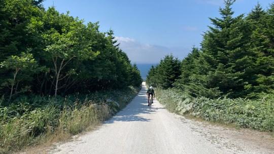 【サイクリングスポット紹介】北海道稚内市 宗谷丘陵&白い道