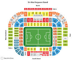 Plattegrond Man United stadion