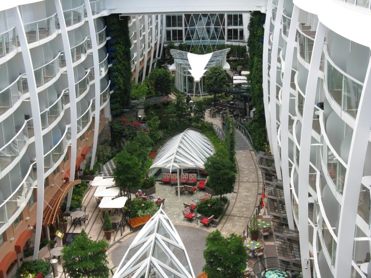 'Central Park' op Oasis of The Seas