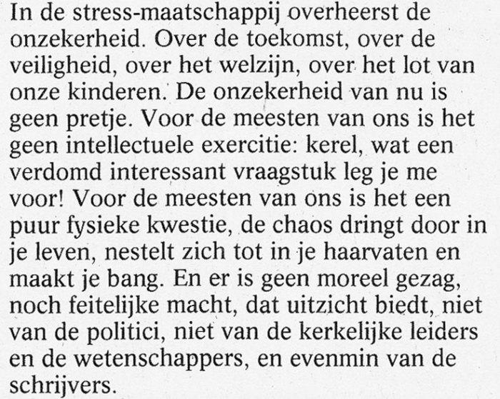 Artikel Jan Tromp in de Volkskrant van 26-6-1993.