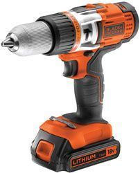 Taladro percutor sin cable BLACK & DECKER EGBHP188K-QW