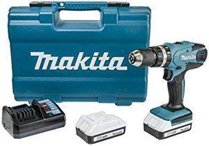 Makita HP457DWE - Taladro Percutor A Bateria 18V