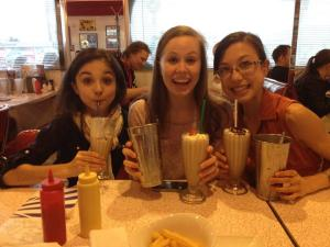 At the American Diner