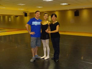 Training at Bristol Russian Ballet School
