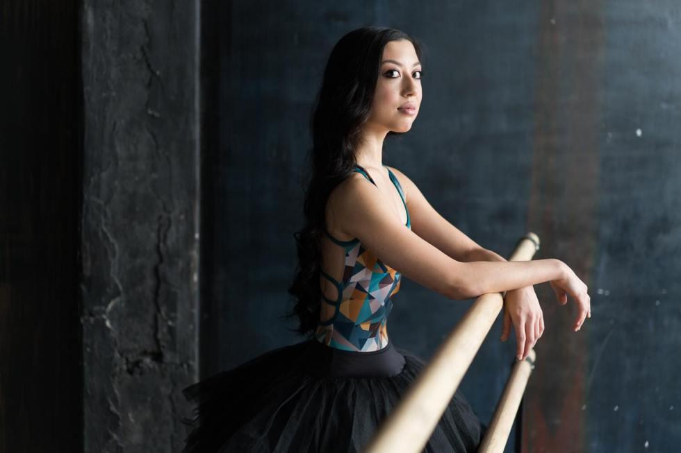Tala Lee-Turton - russian ballet dancer phtoshoot