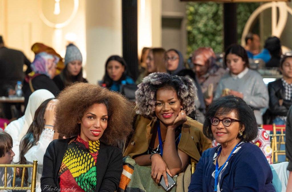 Adriana Talansi participe à l'AFRIFATA 2nde Edition à Casablanca