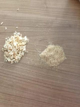 inceltilmiş talaş