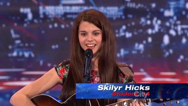 America's Got Talent Season 8 (2013) Skilyr Hicks Episode 7 Beautiful Singer/Songwriter