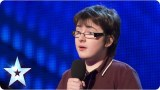 Jack Carroll with his own comedy style