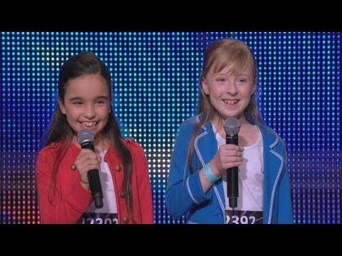 Natalie & Julia Audition Performance   Australia's Got Talent 2013