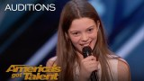 Courtney Hadwin: 13-Year-Old Golden Buzzer Winning Performance – America's Got Talent 2018