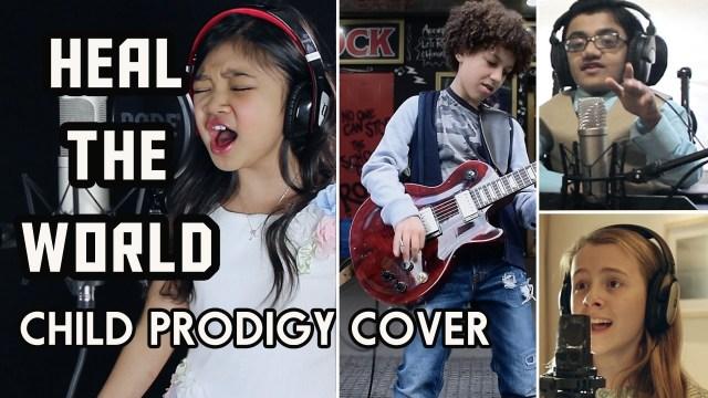 Michael Jackson Tribute – Heal The World – Child Prodigy Cover | Maati Baani