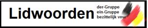 Duits 2 lidwoorden