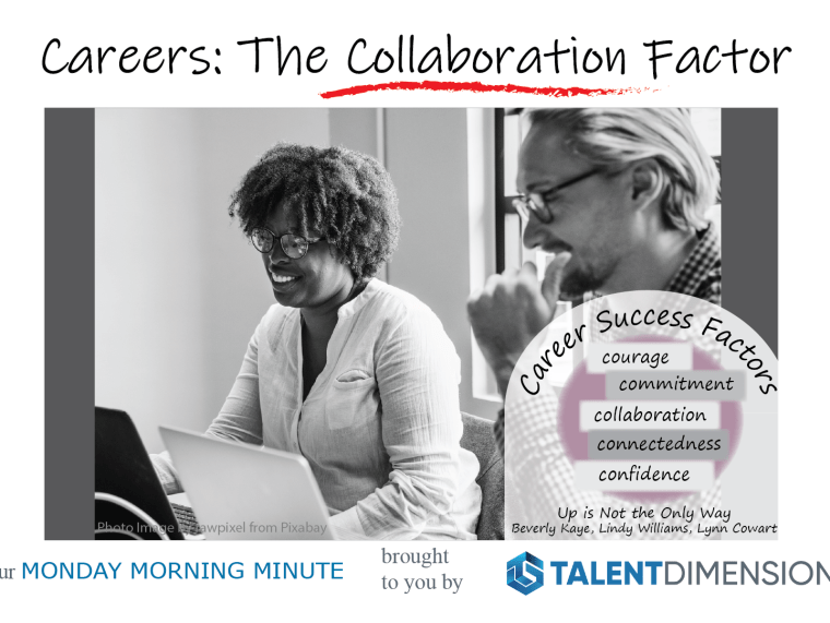 Monday Morning Minute – Careers and Collaboration