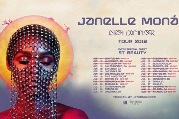Janelle Monáe Dirty Computer Tour