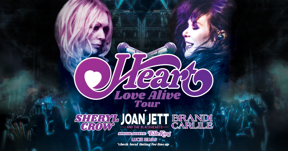 Heart announce massive 'Love Alive' tour
