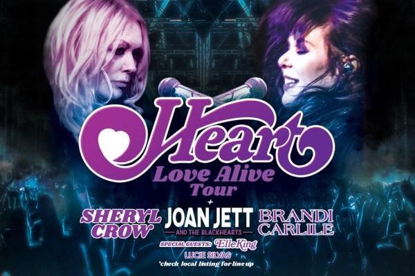 Heart announce massive 'Love Alive' tour