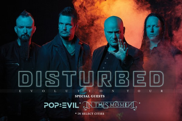 Disturbed announce second leg of tour